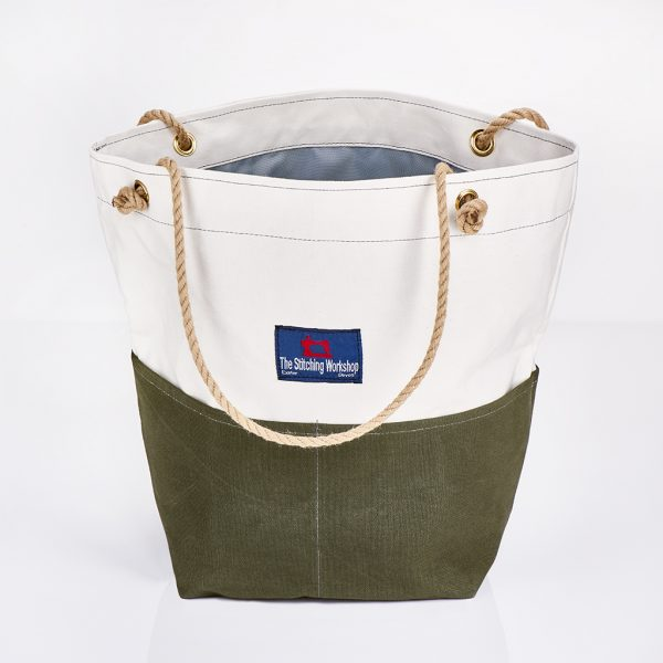 Stitching Workshop - Jessie Bag - Khaki