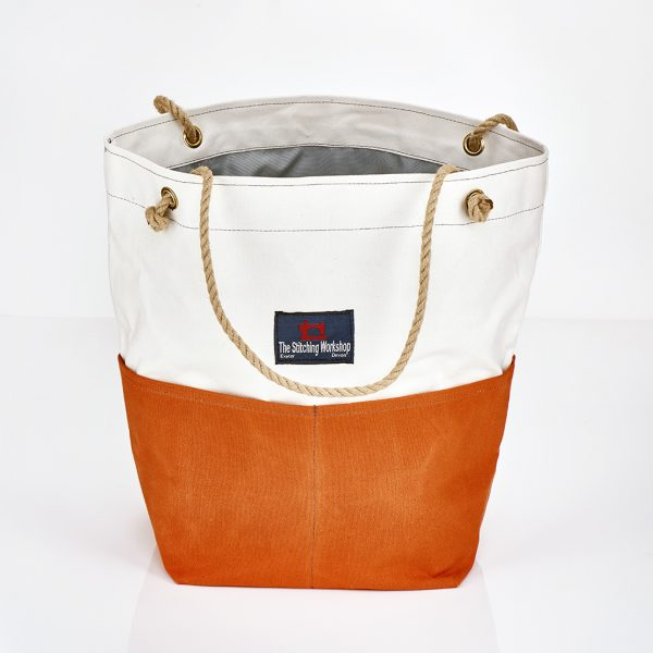Stitching Workshop - Jessie Bag - Orange