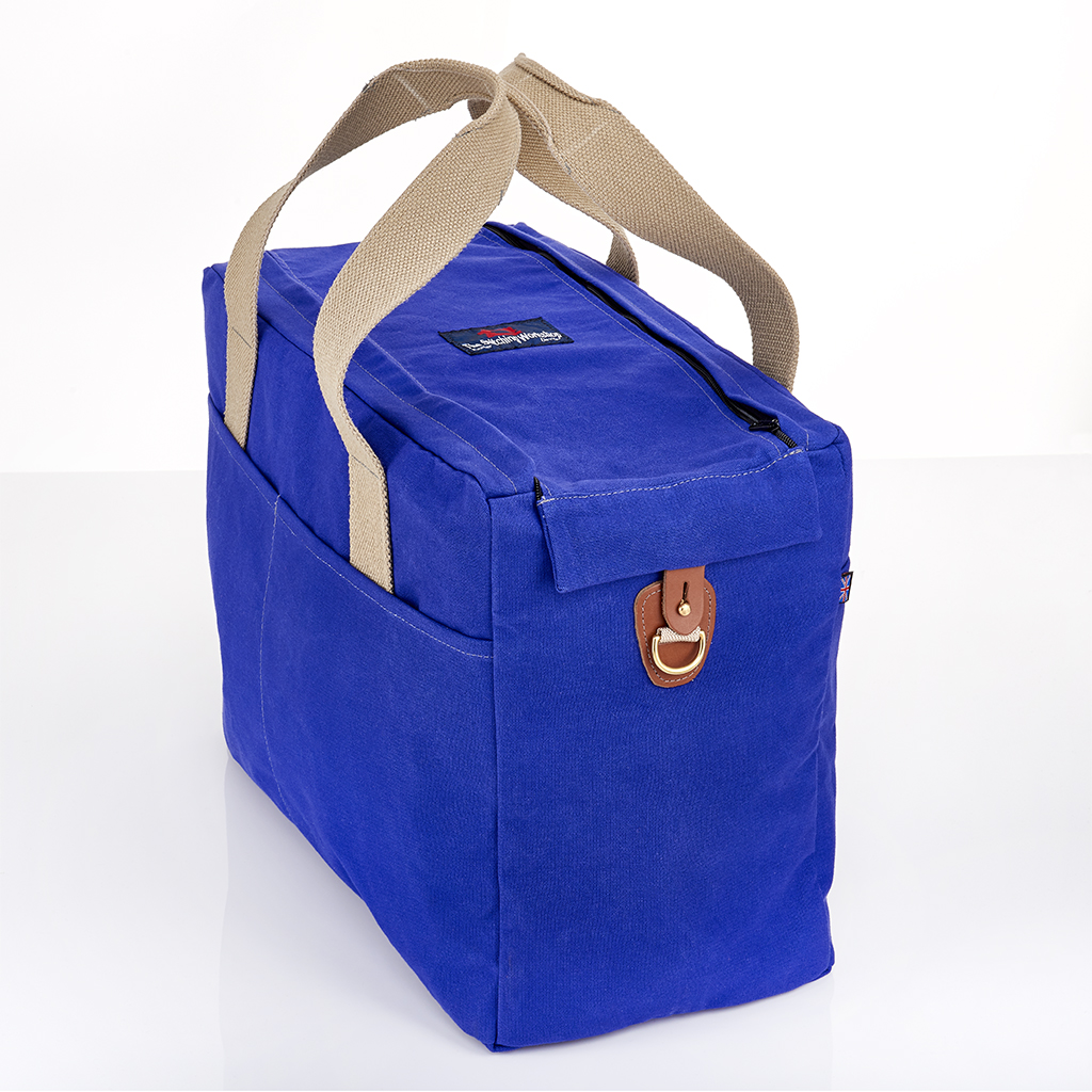 Stitching Workshop - Overnight Bag - Blue