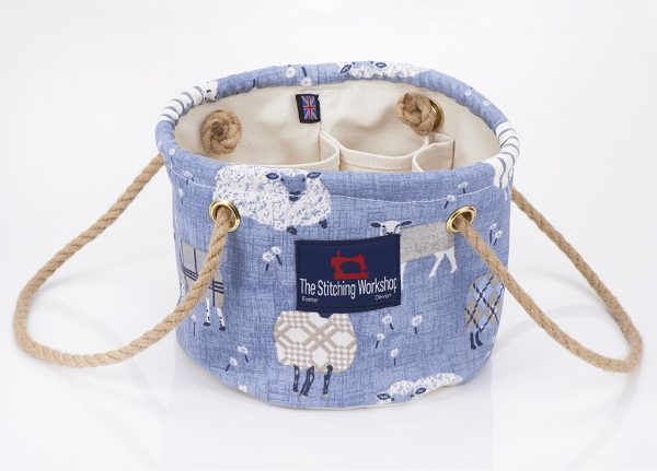 Stitching Workshop - The Can Can Personality - Blue Sheep