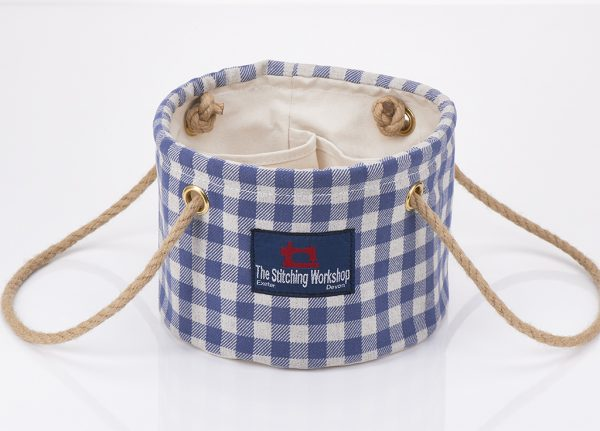 Stitching Workshop - The Can Can Personality - Gingham