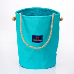 Stitching Workshop - Canvas Bucket - Peppermint