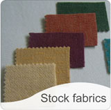 Click here to see our range of fabrics currently in stock.